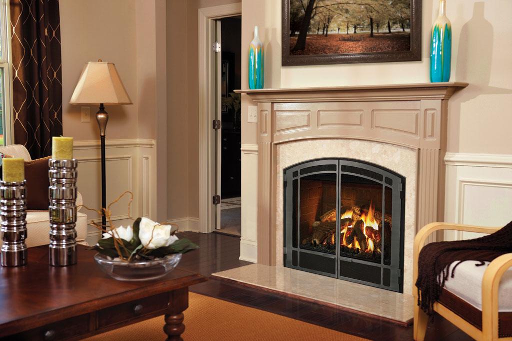 Mendota Dxv Gas Fireplaces Country Stove Patio Amp Spa