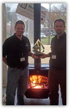 Hybrid Fyre Wins Big At International Wood Stove Design