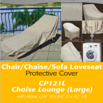 Patio Furniture Covers | Large Chaise Lounge Cover