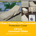 Patio Furniture Covers | Loveseat Glider Cover
