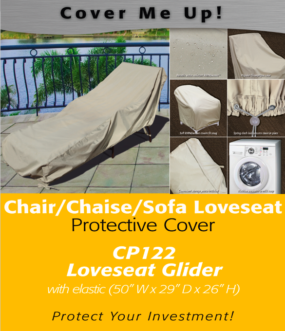 Patio Furniture Covers Loveseat Glider Cover