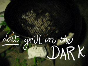 Stop Grilling in the dark