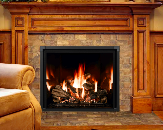 New Construction Fireplaces Mendota Direct Vent Gas Fireplace