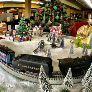 Lionel Christmas Train Display