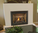 ambiance intrigue gas fireplace