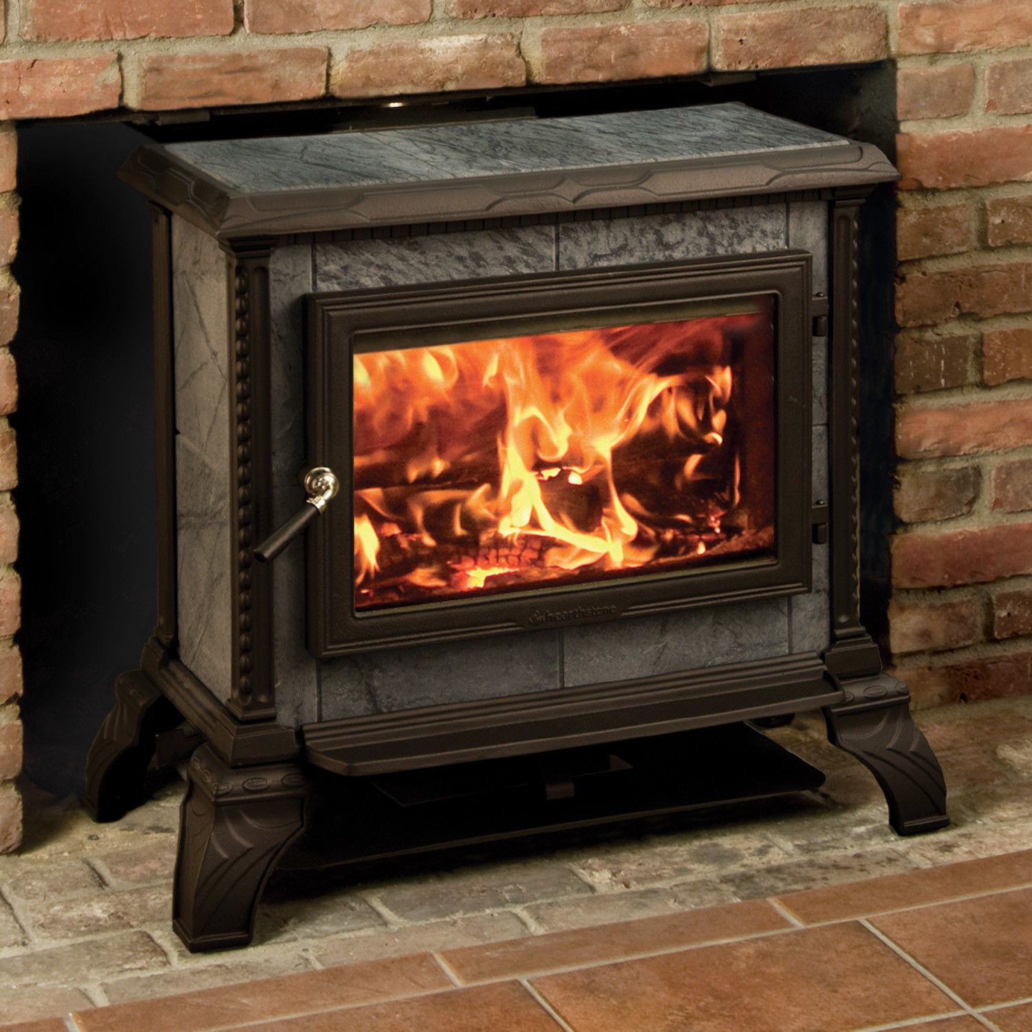 Hearthstone Homestead 8570 Soap Stone Wood Stove Cleveland