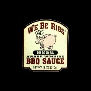 We Be Ribs BBQ Sauce
