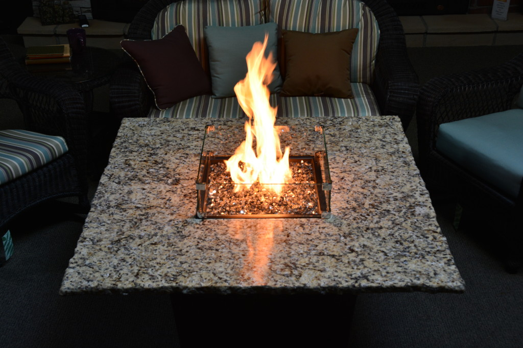 Firetainment Gas Fire Pit Table Cleveland Oh