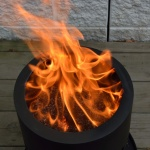 Smokeless Wood Pellet Fire Pit