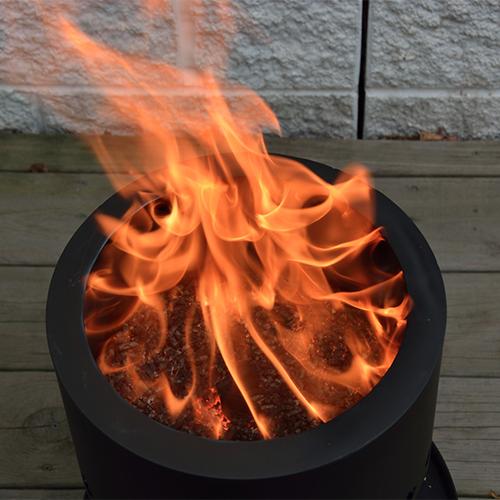 Smokeless Wood Pellet Fire Pit - Pellet Fire Pit