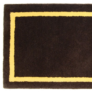 Taupe Hearth Rug Detail
