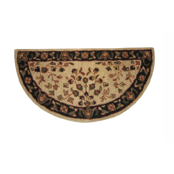 Floral Hearth Rug