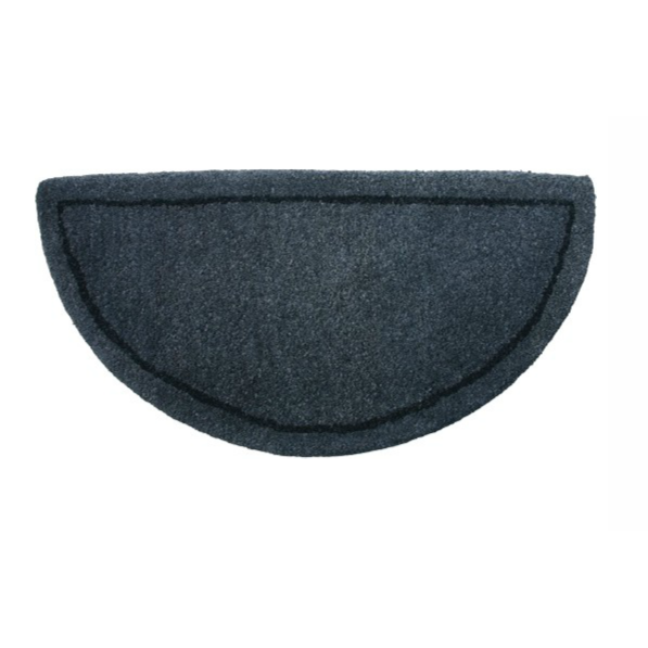 Fireplace Rug Fire Resistant: Gray Wool Hearth Rug