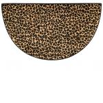 Leopard Hearth Rug