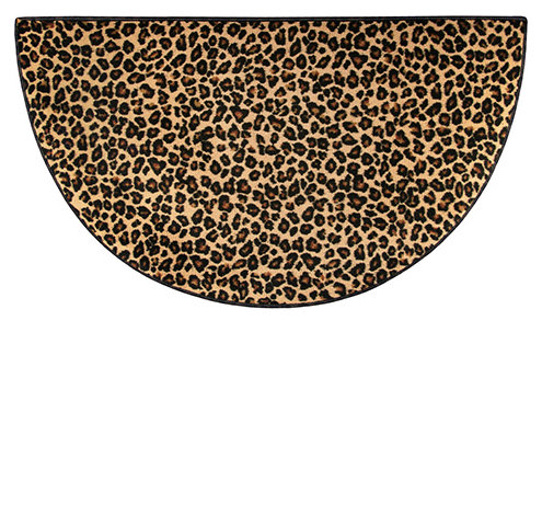 Leopard Hearth Rug