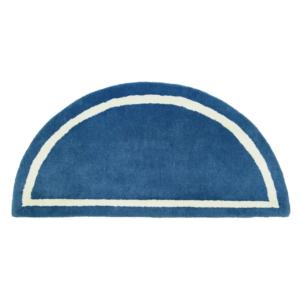 Blue Fire Resistant Rug