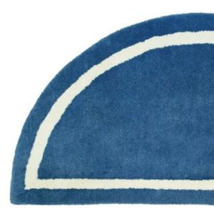 Blue Hearth Rug Detail