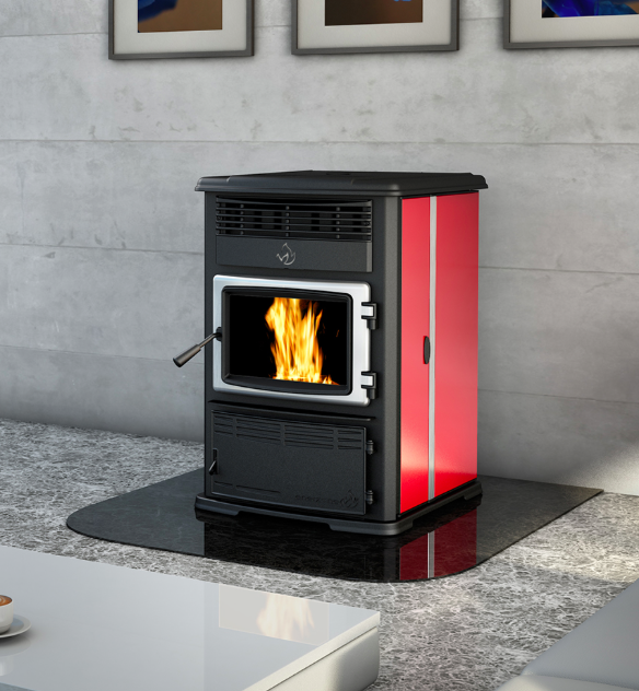eurostar pellet stove enerzone country stove co.