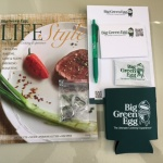 Big Green Egg items that comes with Big Green Egg promotional kit