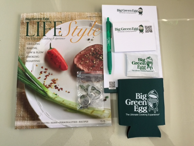 Big Green Egg Promotional Items Country Stove Patio And Spa