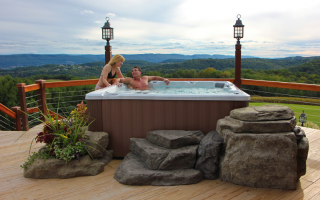 country stove patio spa hot tubs