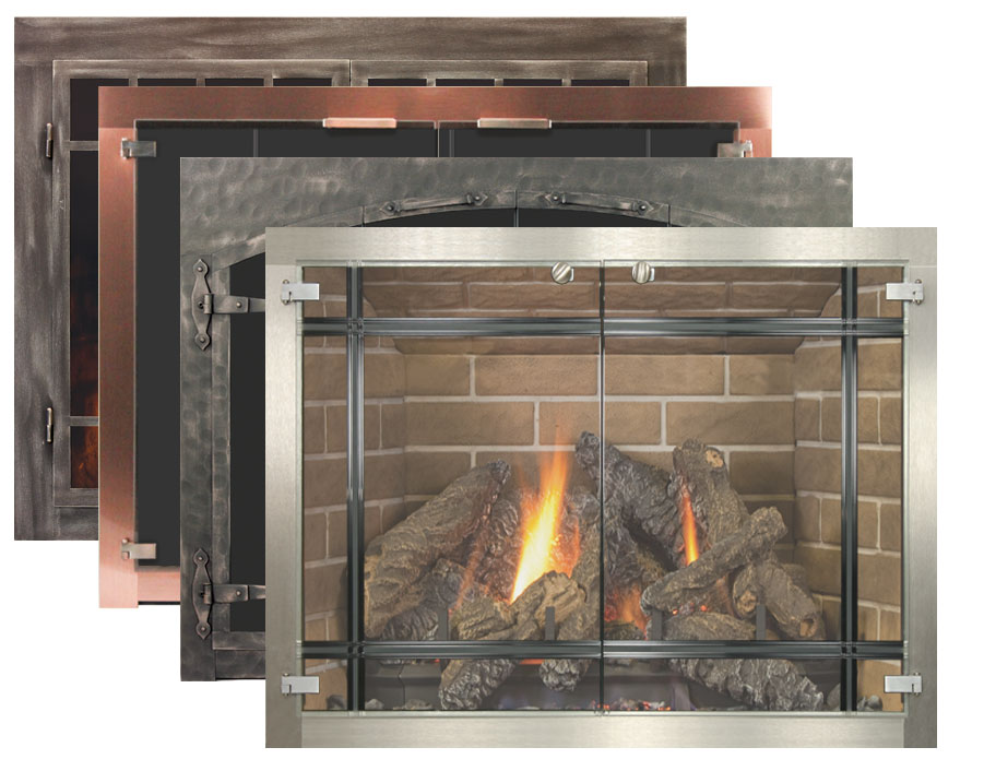 Fireplace Glass Doors.