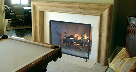 Fireplace-Screen