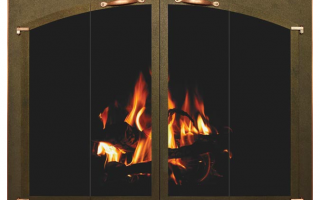 country stove patio spa stoll arch conversion fireplace glass doors