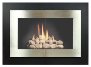 country stove patio still contemporary fireplace glass door