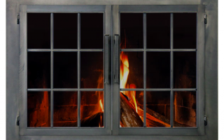 Stoll Masonry Fireplace Glass Doors & Stoll Masonry Fireplace Glass Doors - Cleveland Ohio