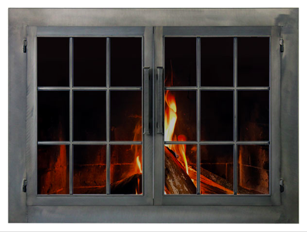 Stoll Industrial Fireplace Glass Door Country Stove Patio