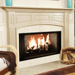 "42"" Wood Fireplace"