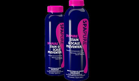 stain and scale preventer spa pure