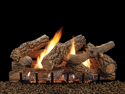 saratoga vent free gas logs american hearth