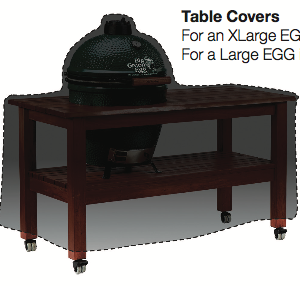Big Green Egg Table Covers - Long and Compact Table Covers