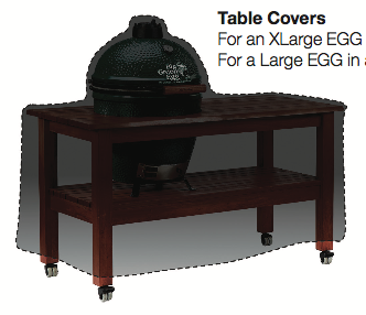 Exceptional Check Dimensions Below To Make Sure The Cover Will Fit And Protect Your Big  Green Egg. Covers Will Cover Over The Table Measurements Below.