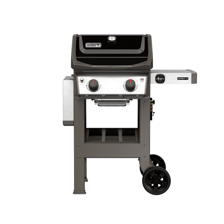 spirit ii e 210 gas grill black propane. Black Bedroom Furniture Sets. Home Design Ideas