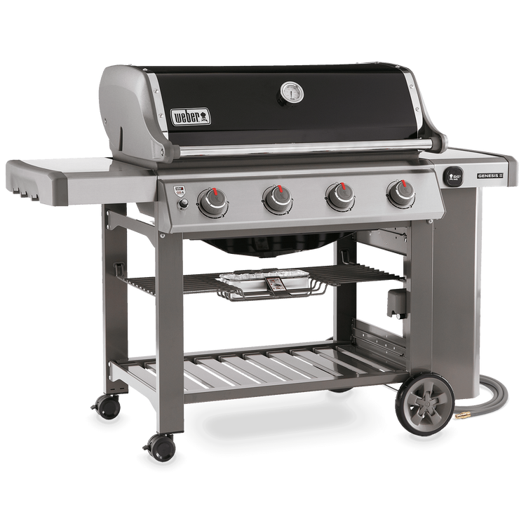 Genesis Ii Se 410 Gas Grill Black Natural Gas