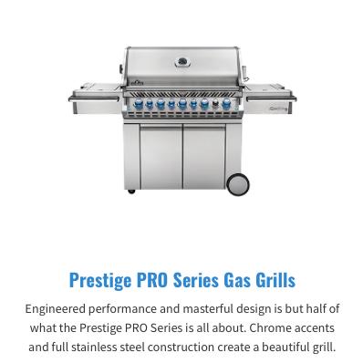 Prestige PRO Series Gas Grills