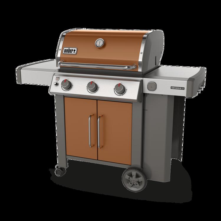 Genesis Ii E 315 Gas Grill Propane Copper New 2019